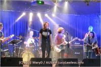 Концерт Люси Лоулесс в Окленде 27 мая.