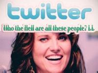 Люси теперь на twitter`е